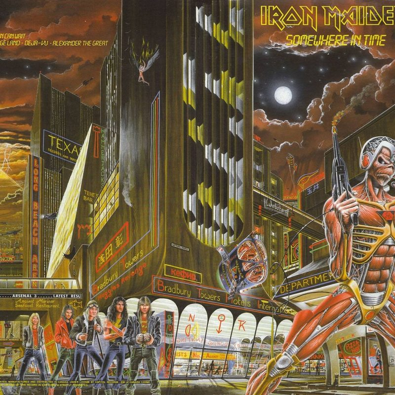 10 New Iron Maiden Somewhere In Time Wallpaper FULL HD 1080p For PC Desktop 2018 free download feature friday lost somewhere in time maiden revelations 800x800