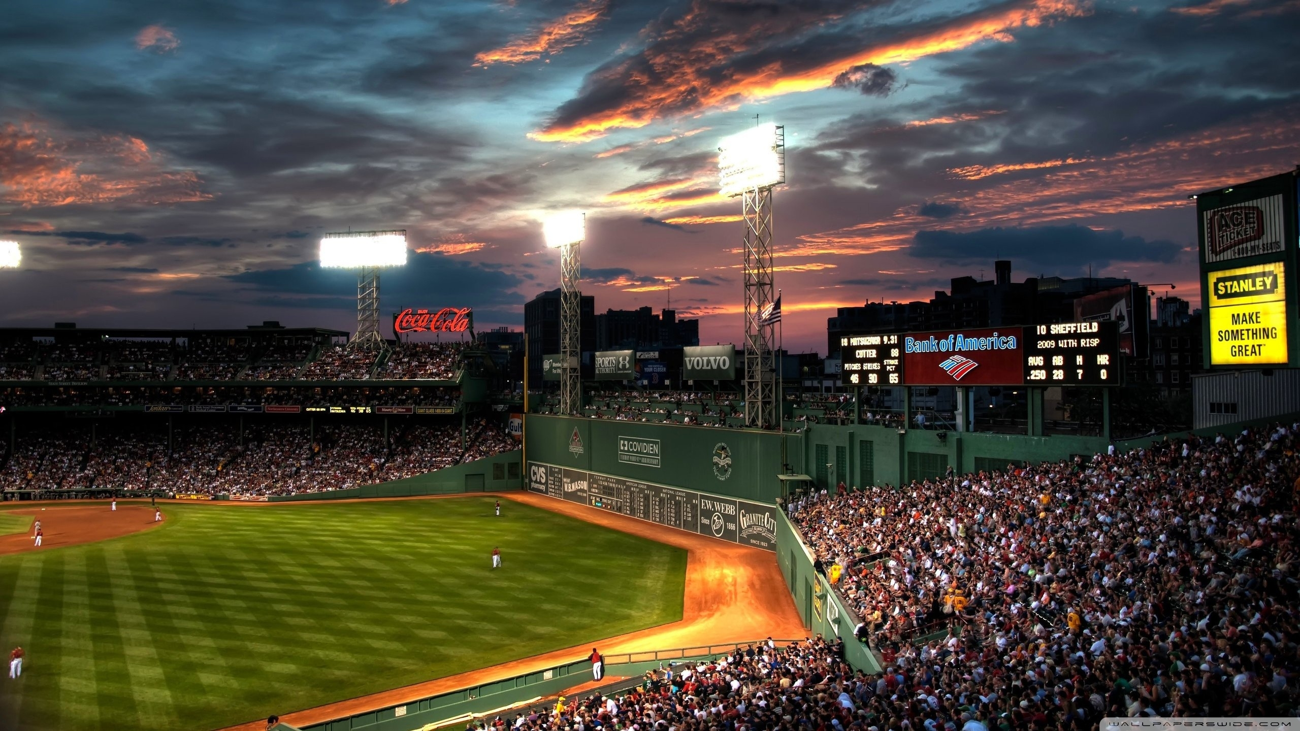 fenway park, boston, massachusetts - baseball park ❤ 4k hd desktop