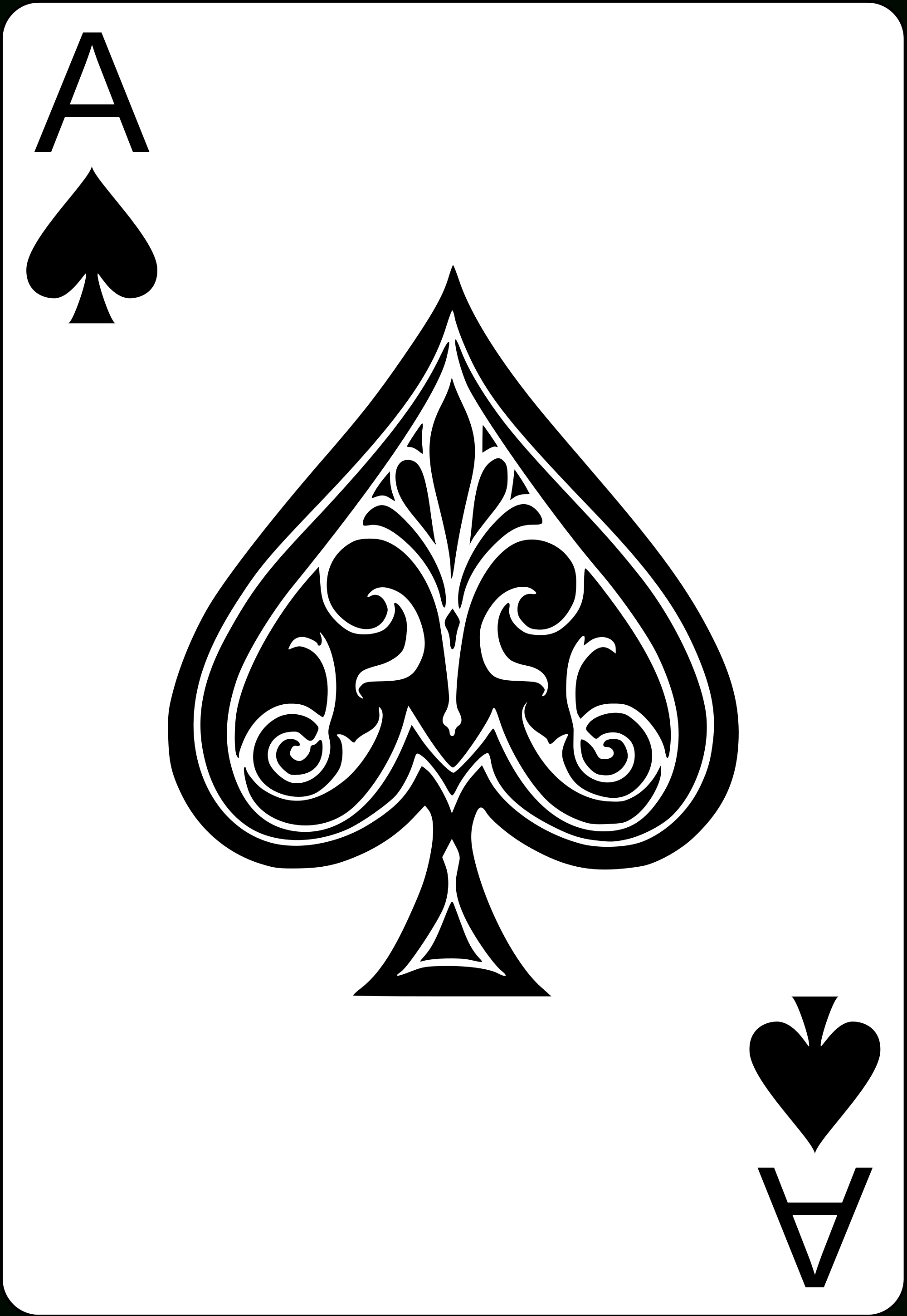 file:ace of spades.svg - wikimedia commons