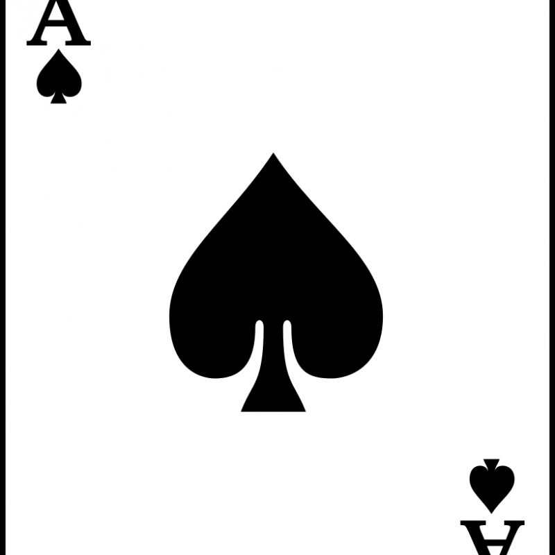 10 New Ace Of Spade Image FULL HD 1920×1080 For PC Background 2018 free download fileplaying card spade a svg wikimedia commons 800x800