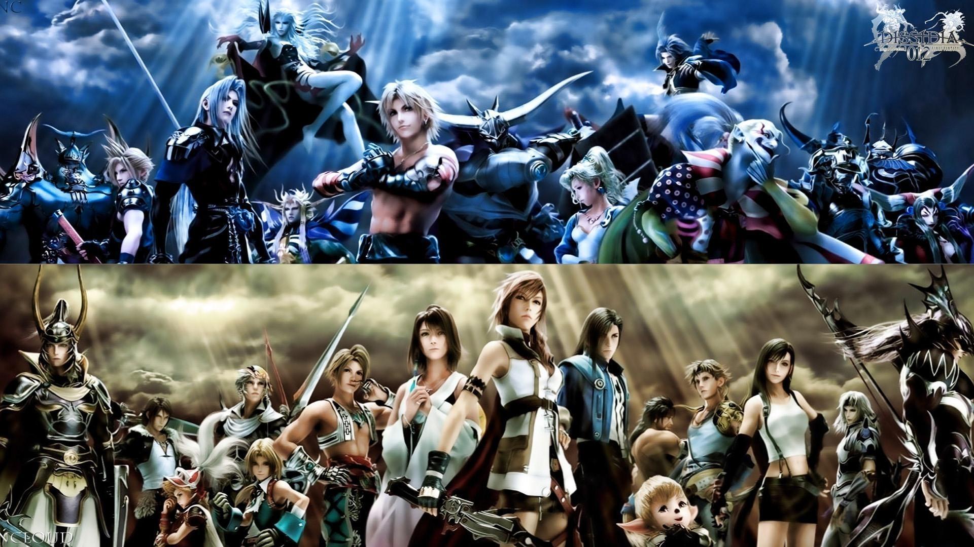 final fantasy dissidia hd desktop wallpaper : widescreen : high