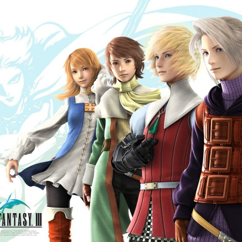 10 Best Final Fantasy 3 Wallpaper FULL HD 1080p For PC Background 2021 free download final fantasy iii alternatesusyspider on deviantart 800x800