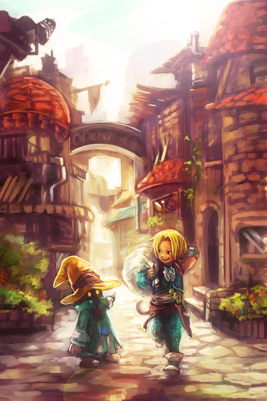 final fantasy ix mobile wallpaper #1391398 - zerochan anime image board
