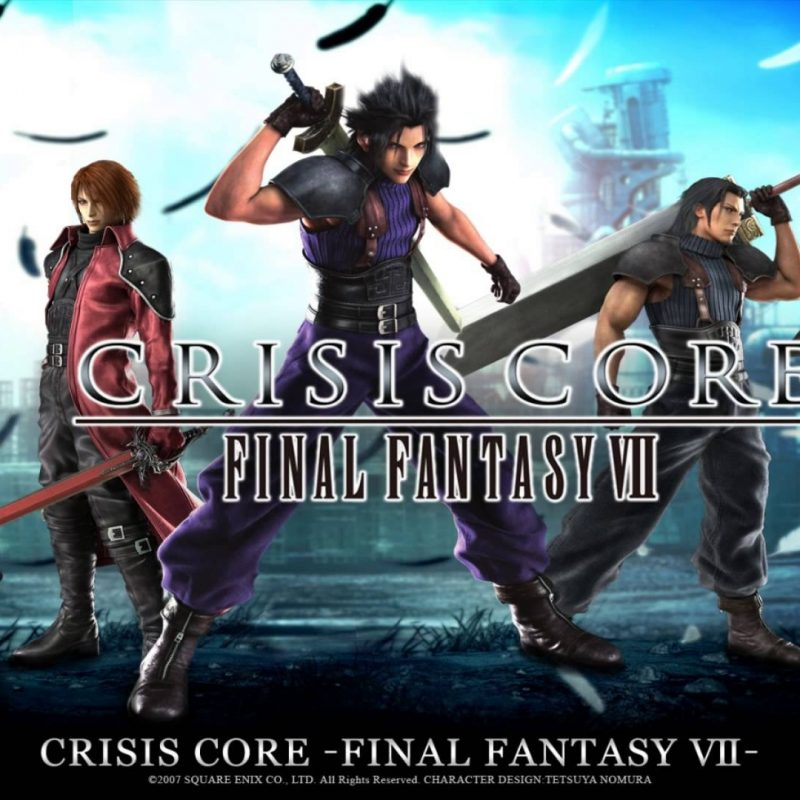 10 Best Final Fantasy Crisis Core Wallpaper FULL HD 1080p For PC Desktop 2021 free download final fantasy vii remake director reveals past spin off titles would 800x800