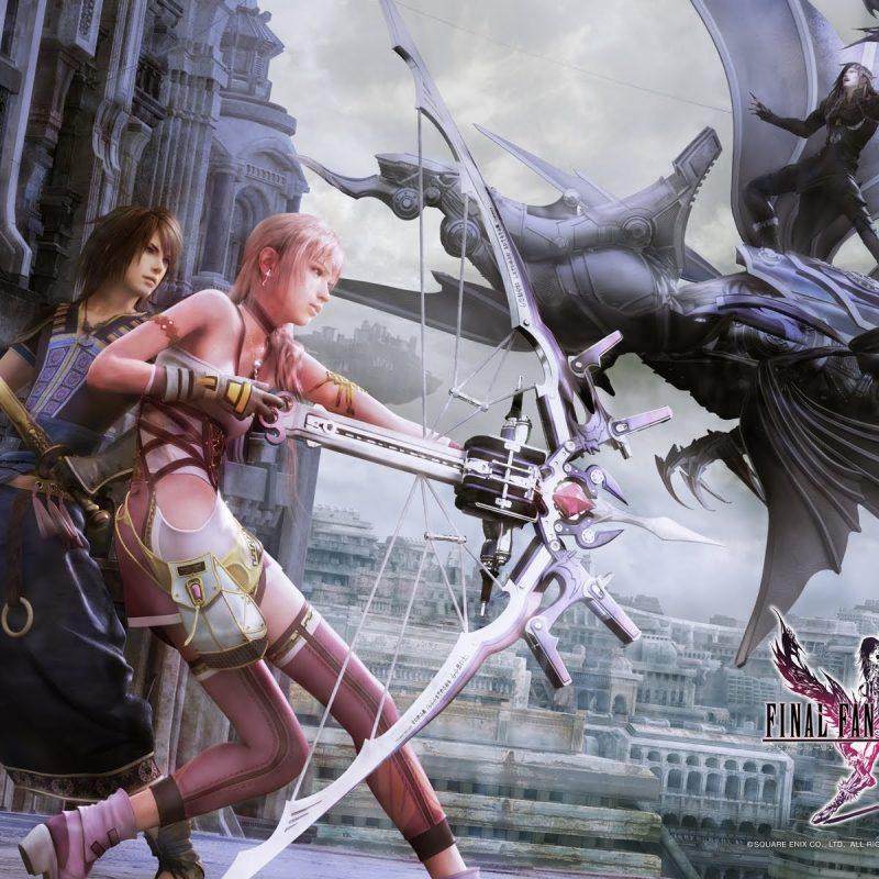10 Latest Final Fantasy 13-2 Wallpaper FULL HD 1080p For PC