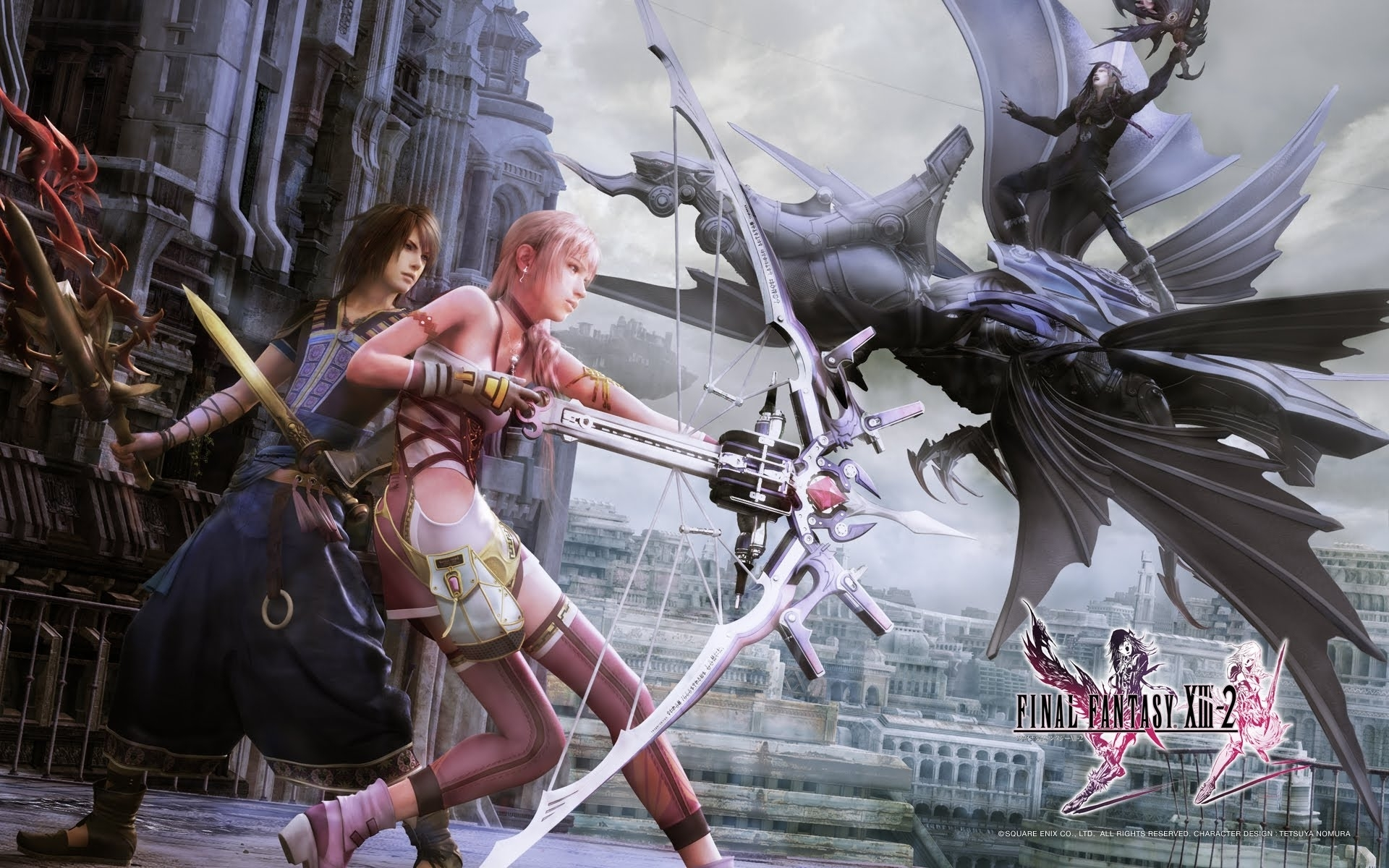 final fantasy xiii-2 (video test ps3) [hd] - youtube