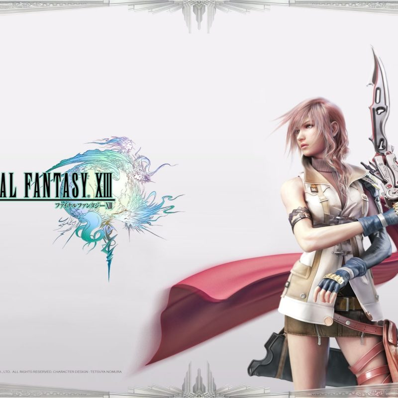 10 Most Popular Final Fantasy 13 Wallpaper FULL HD 1920×1080 For PC Desktop 2020 free download final fantasy xiii ffxiii ff13 wallpapers 800x800