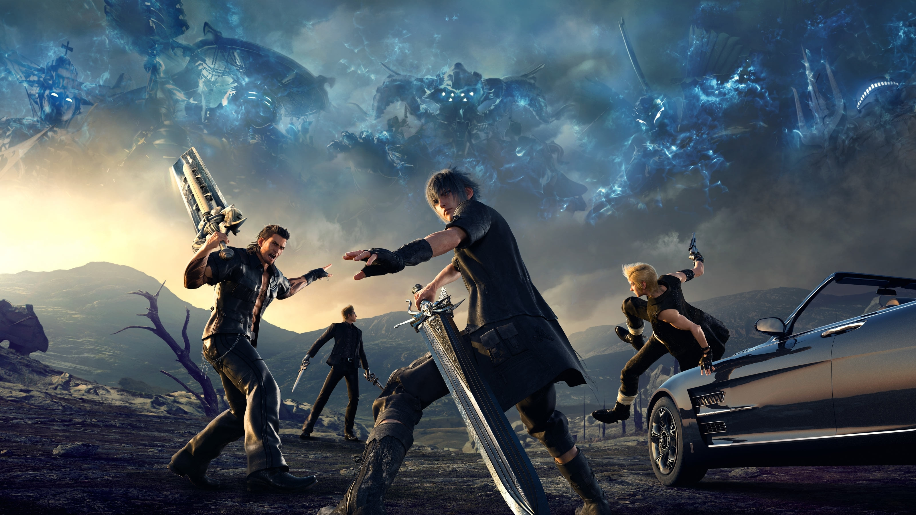 final fantasy xv hd wallpaper (81+ images)