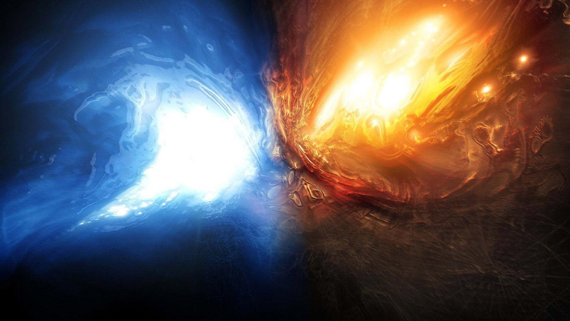 fire and water wallpapers - wallpaper cave