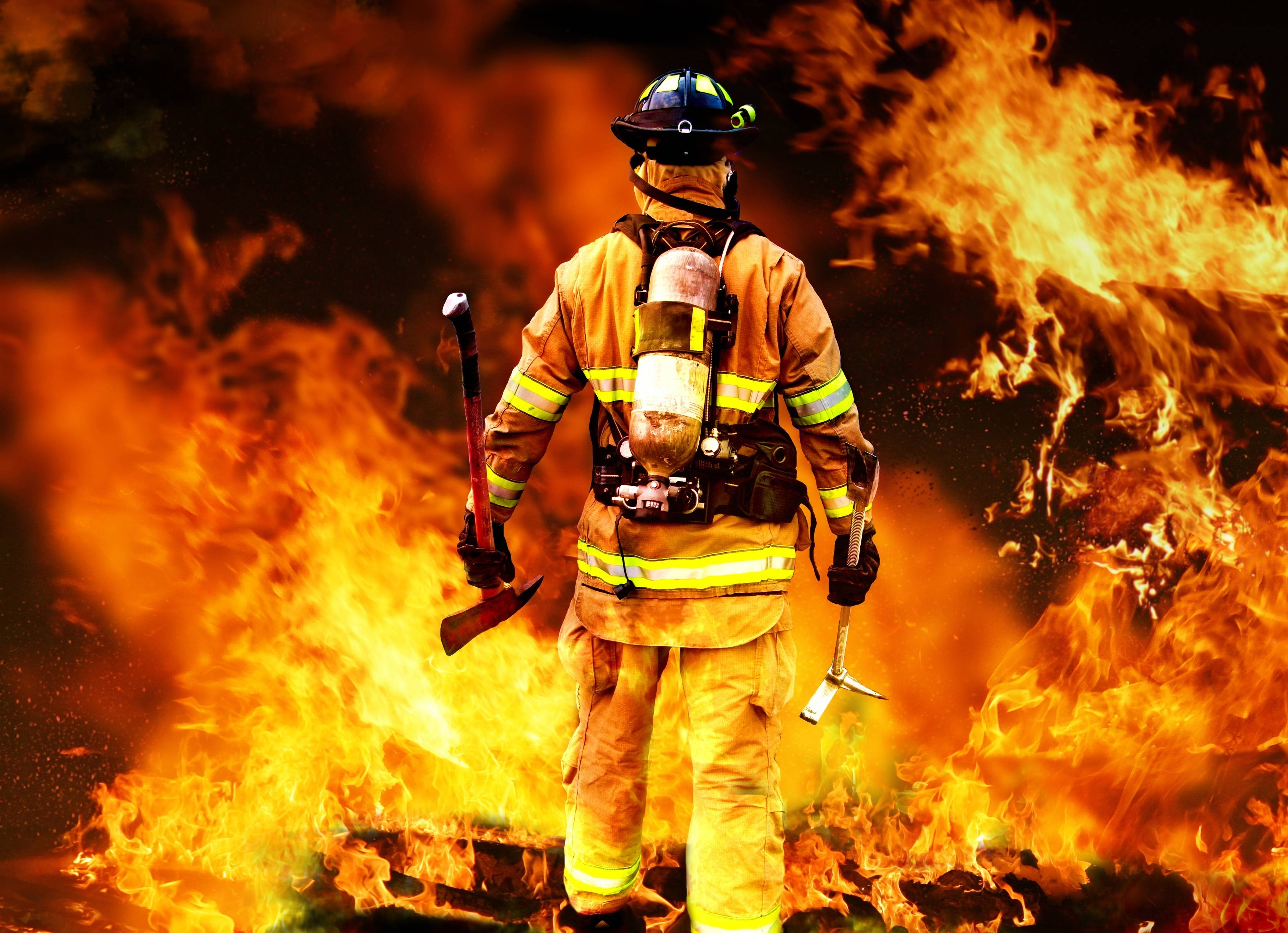 firefighting wallpapers group (41+)