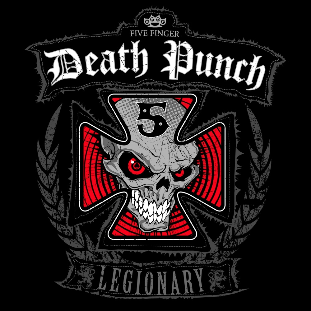 five finger death punch | legionary (black) | hoodie