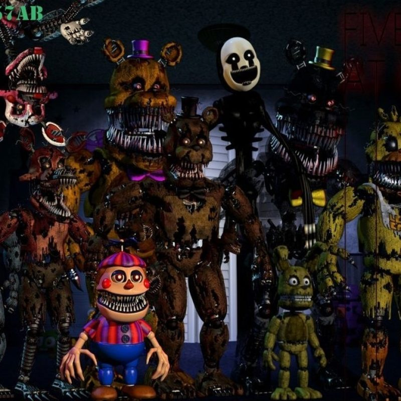 10 New Five Night At Freddy Wallpaper FULL HD 1920×1080 For PC Background 2018