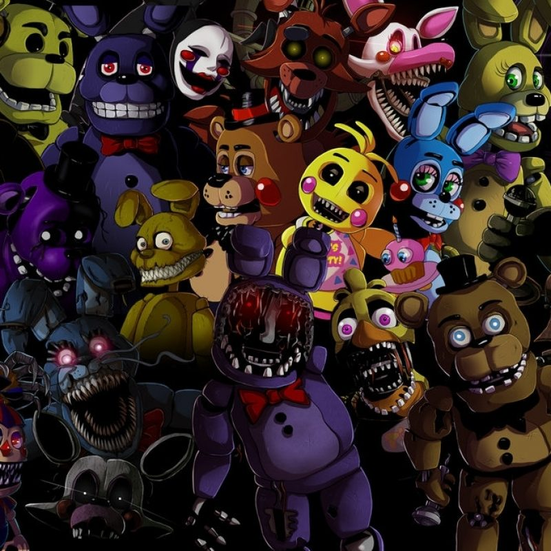 10 New Five Night At Freddy Wallpaper FULL HD 1920×1080 For PC Background 2021 free download five nights at freddys animatronics wallpaperladyfiszi on 800x800