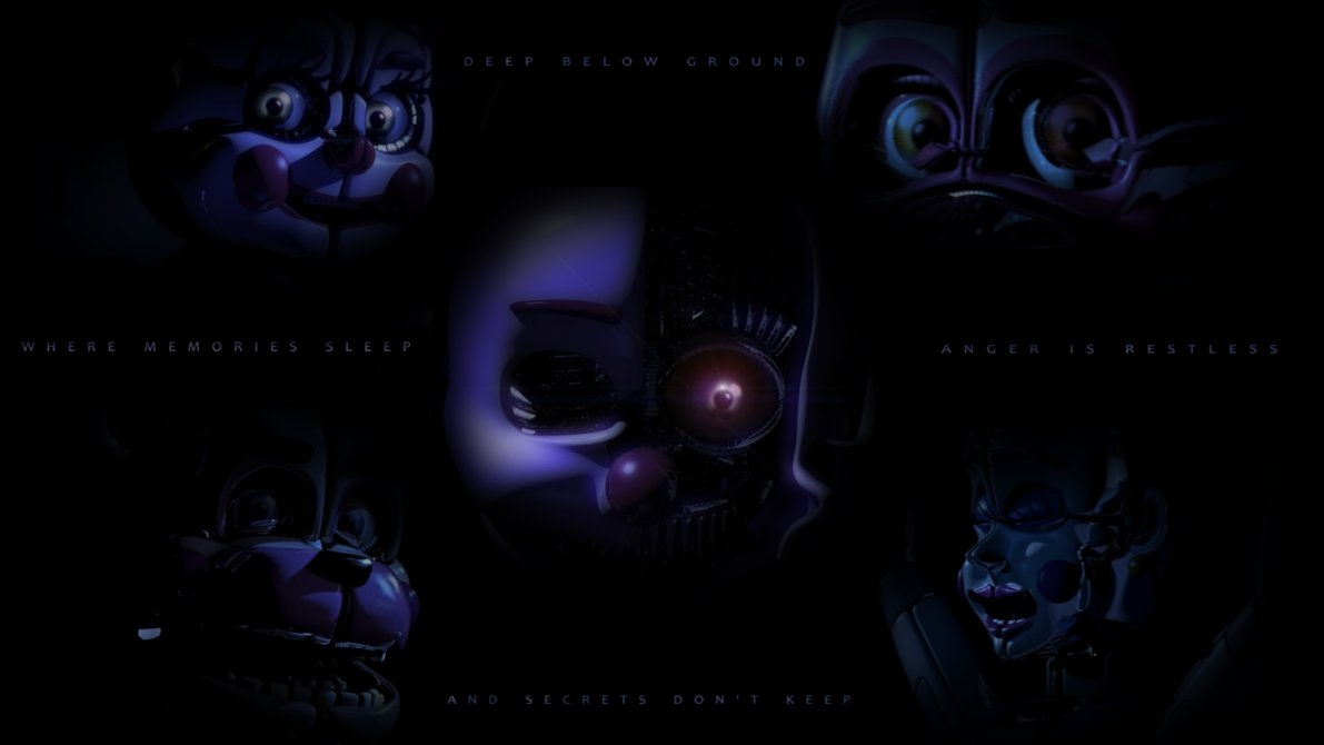 five nights at freddy's: sister location wallpaperdahooplerzman