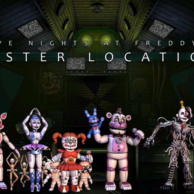 10 Most Popular Five Nights At Freddy's Sister Location Wallpaper FULL HD 1080p For PC Desktop 2020 free download five nights at freddys sister locationmrmarioluigi1000 on 800x800