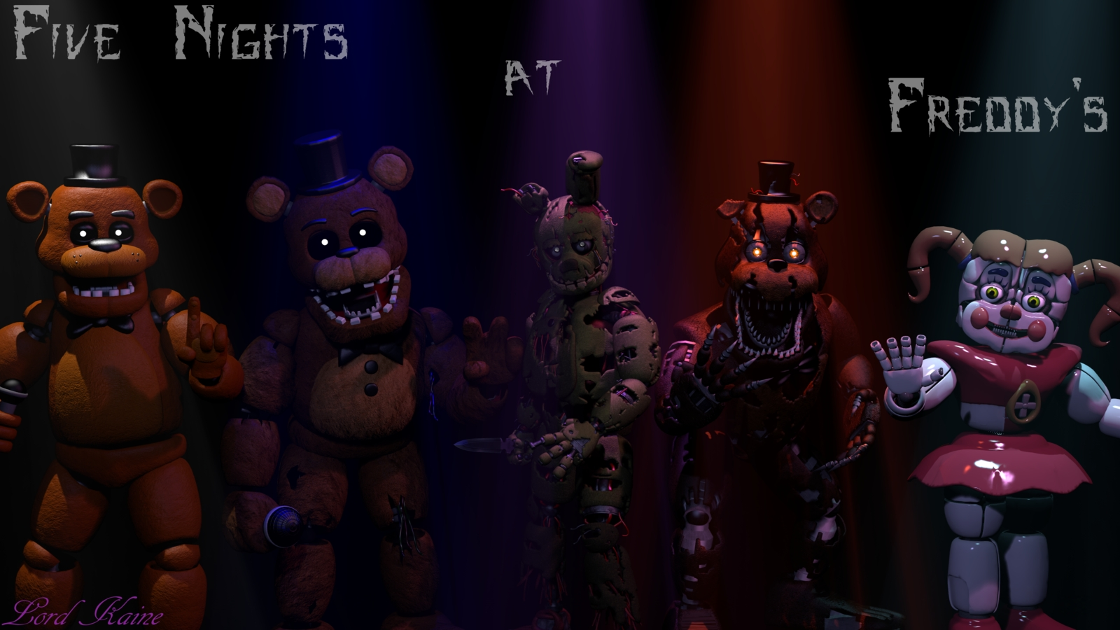 five nights at freddy's wallpaperlord-kaine on deviantart