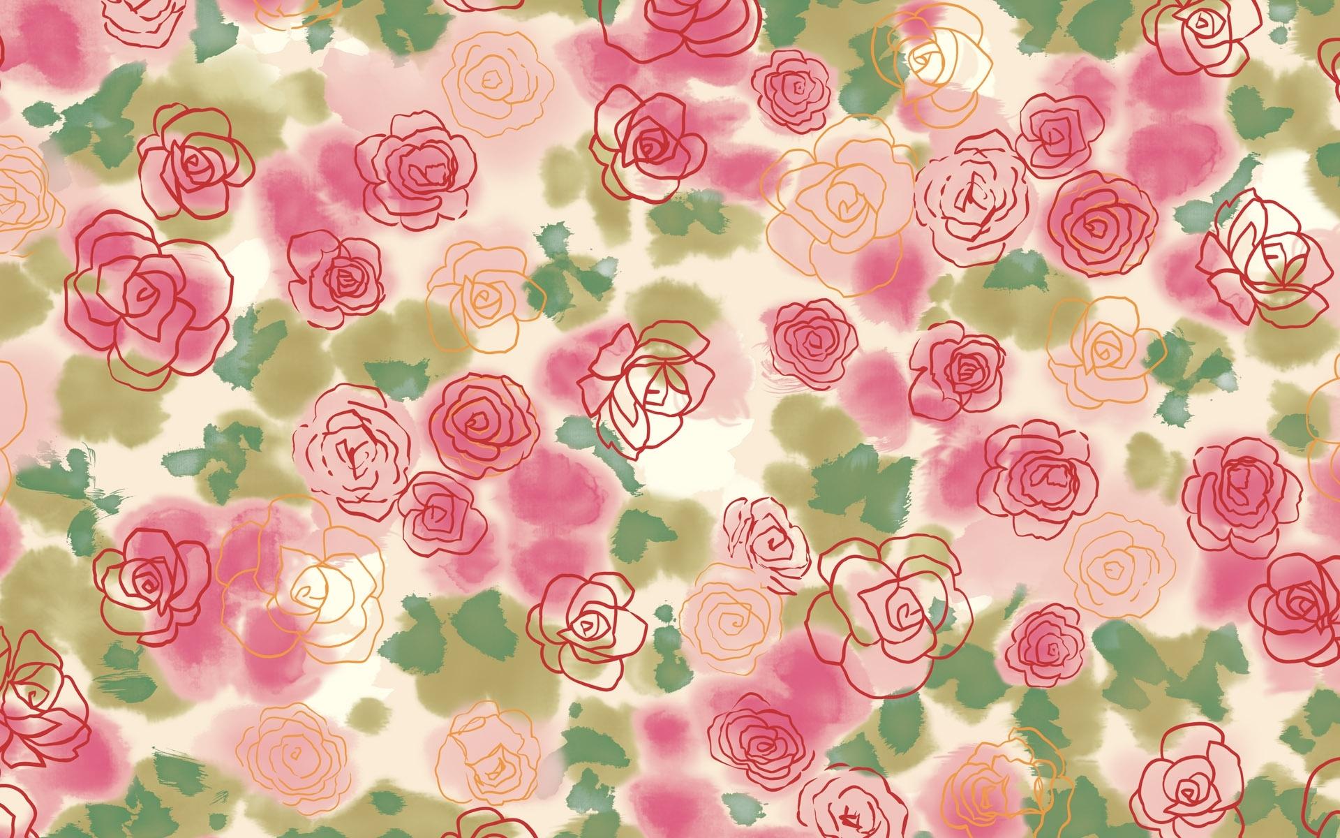 flower pattern background wallpaper | hd desktop background
