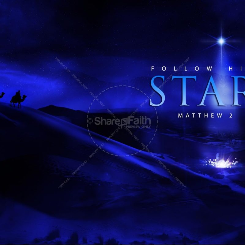 10 New Christian Christmas Star Backgrounds FULL HD 1920×1080 For PC Background 2020 free download follow his star worship video loop worship media 800x800