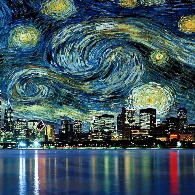 10 Best Van Gogh Wallpaper 1920X1080 FULL HD 1920×1080 For PC Background 2021 free download fond decran 1920x1080 px chicago paysage urbain films la 800x800