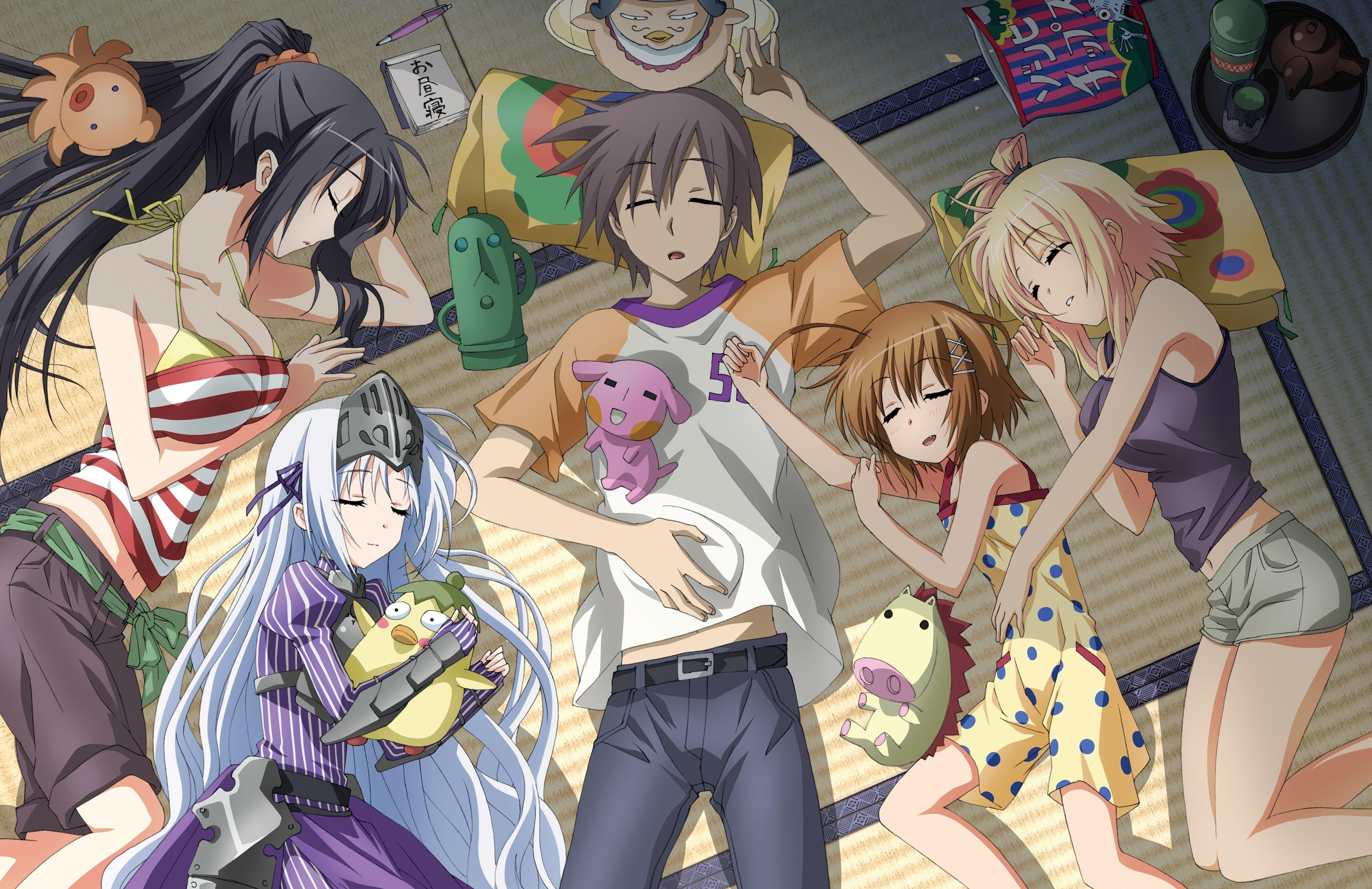fond d'écran : anime, filles anime, kore wa zombie desu ka, des