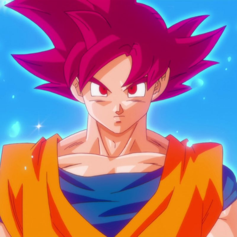 10 Best Dragon Ball Z Pictures Of Goku Super Saiyan God FULL HD 1920×1080 For PC Background 2018 free download fond decran illustration anime les yeux rouges son goku 800x800