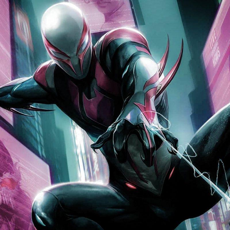 10 Best Spider Man 2099 Wallpaper Hd FULL HD 1920×1080 For PC Desktop 2020 free download fond decran illustration anime marvel comics homme araignee 1 800x800