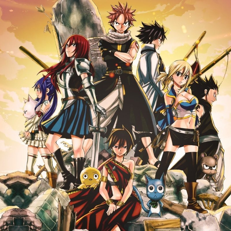 10 Latest Anime Wallpaper Fairy Tail FULL HD 1920×1080 For PC Desktop 2018 free download fond decran illustration anime queue de fee scarlet erza 800x800