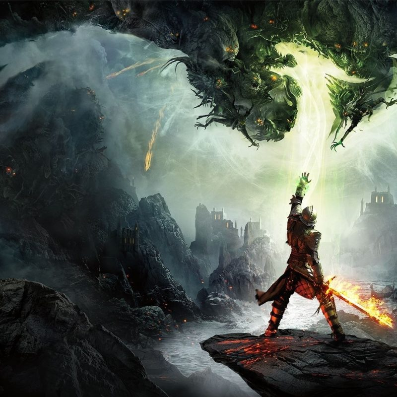 10 Best Dragon Age Inquisition Wallpapers FULL HD 1080p For PC Background 2021 free download fond decran jeux video art fantastique feu dragon age dragon 1 800x800