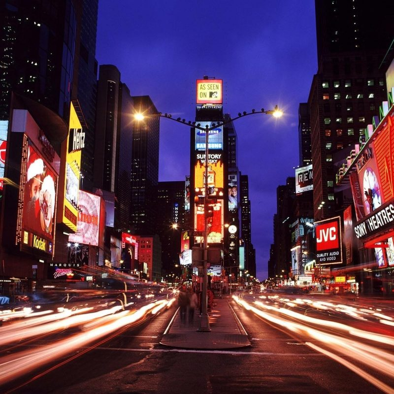 10 Top New York Streets At Night Wallpaper FULL HD 1080p For PC Background 2020 free download fond decran rue de new york la nuit my hd wallpapers 800x800