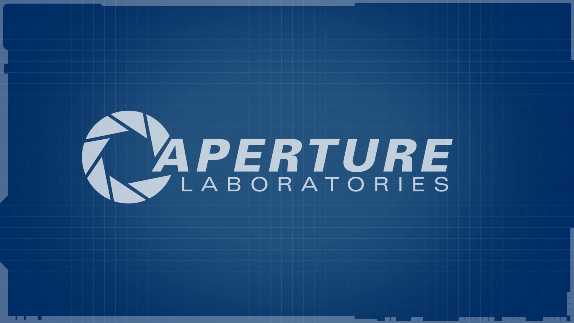 fond d'écran : texte, portail 2, aperture laboratories, marque