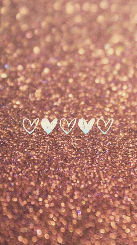fondo dorado de corazon   quotes   pinterest   wallpaper, phone and