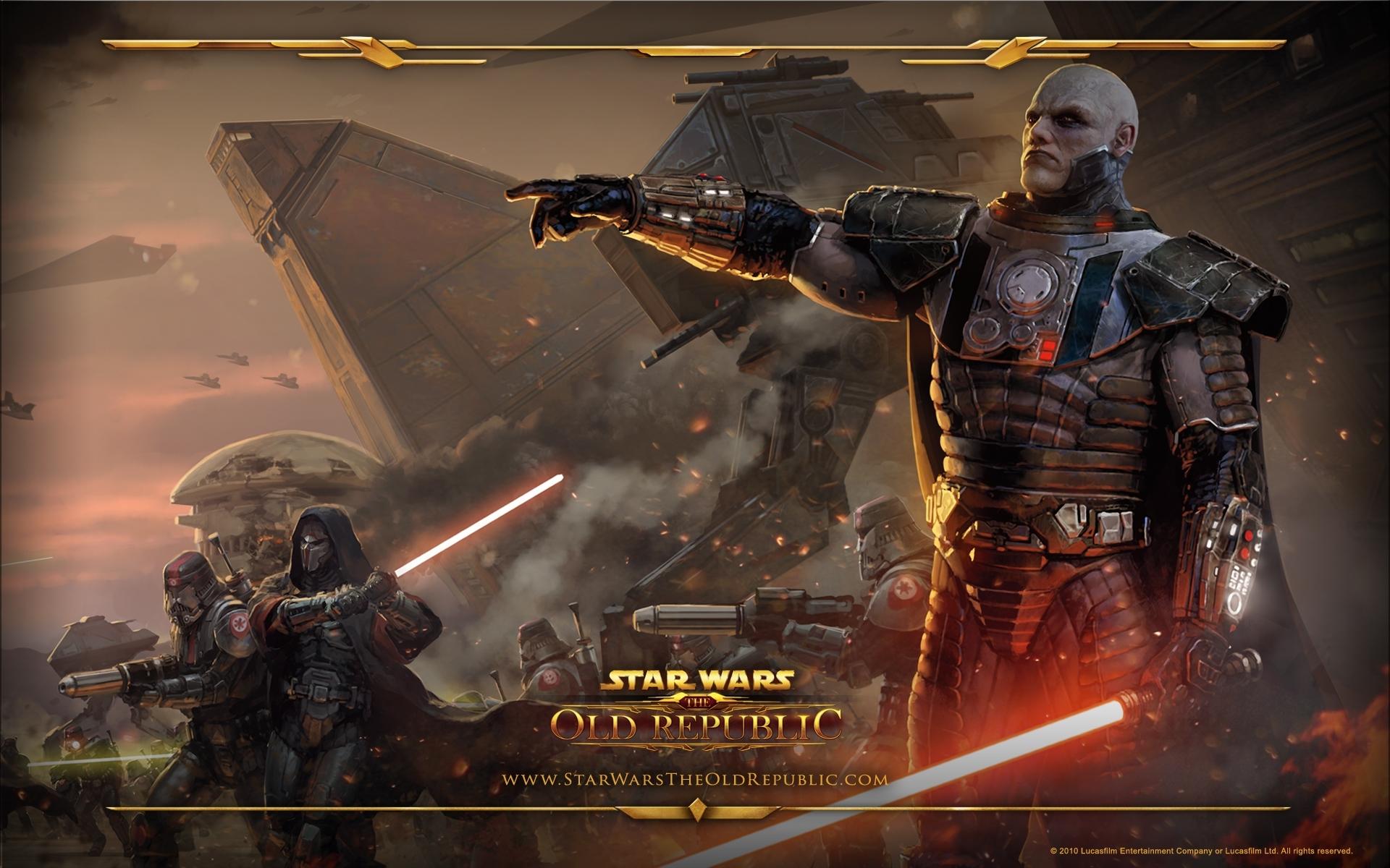fonds d'ecran 1920x1200 star wars star wars the old republic jeux