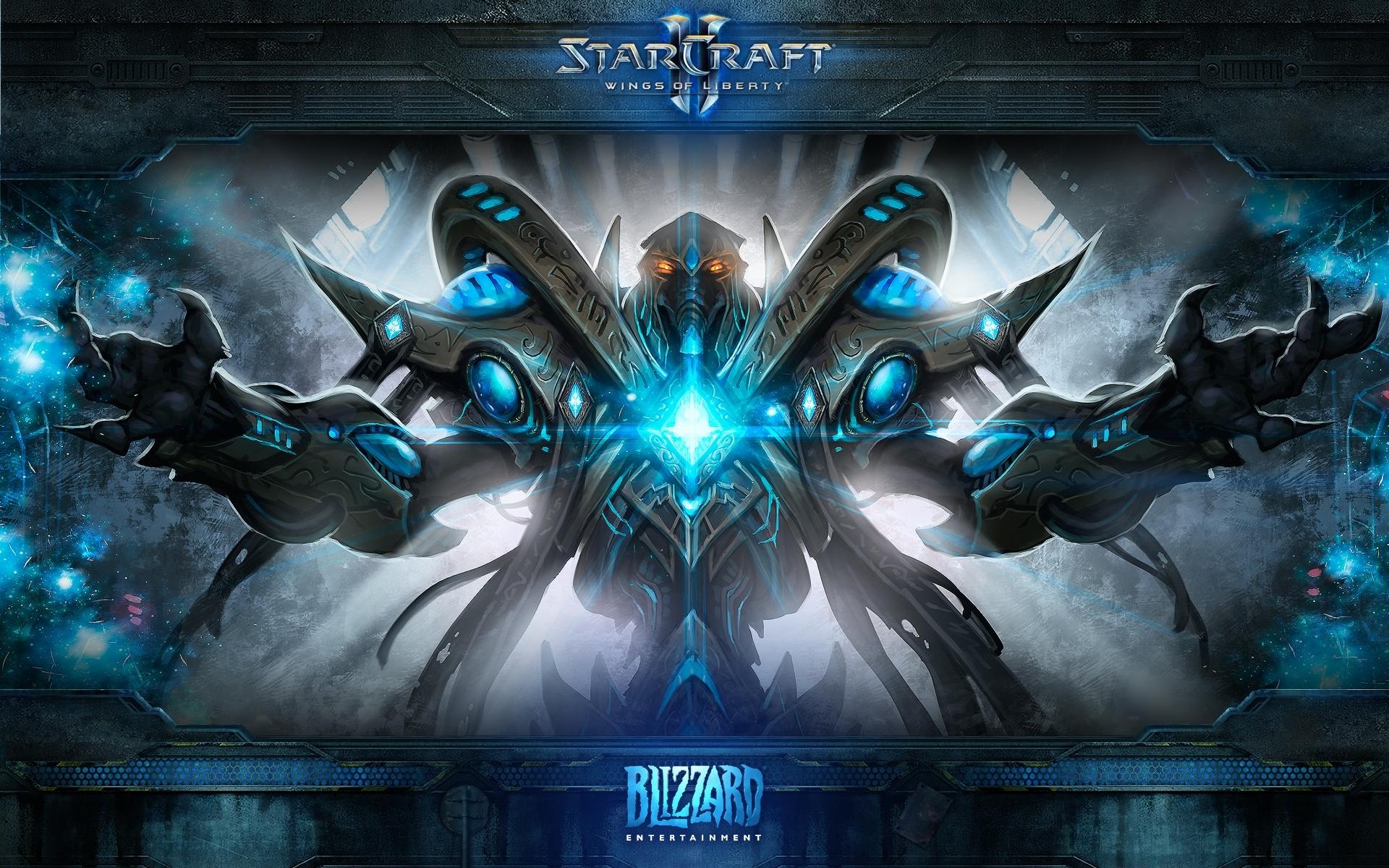 fonds d'écran - médias - starcraft ii