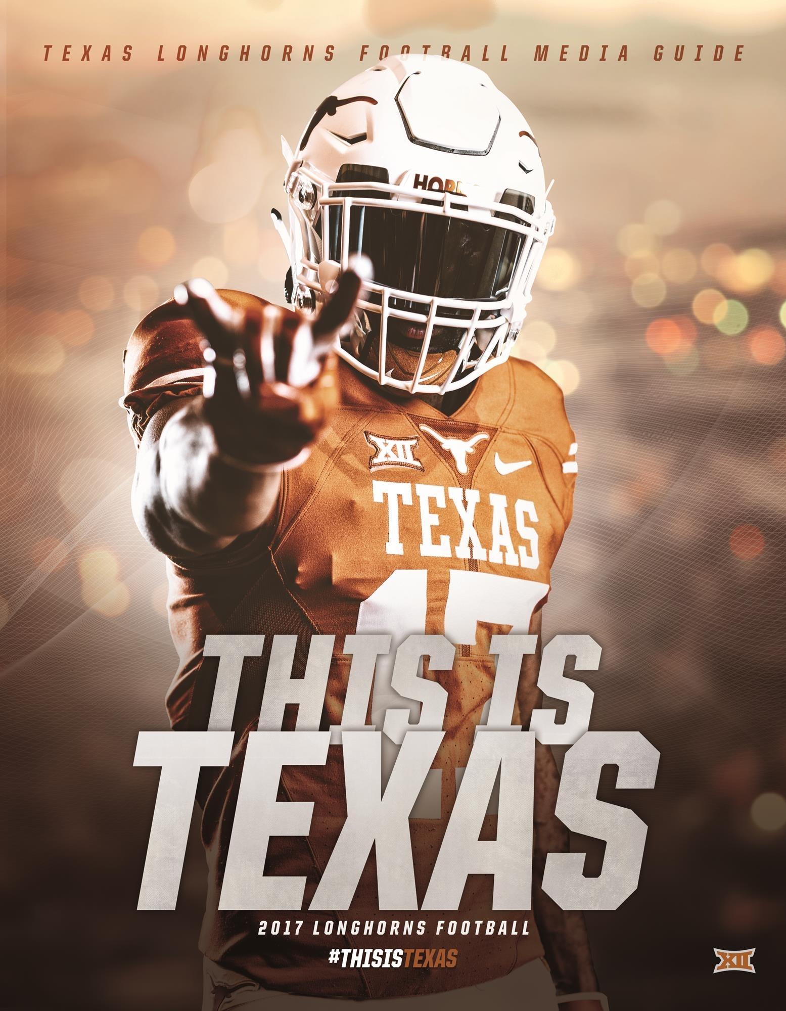 football media guide - university of texas