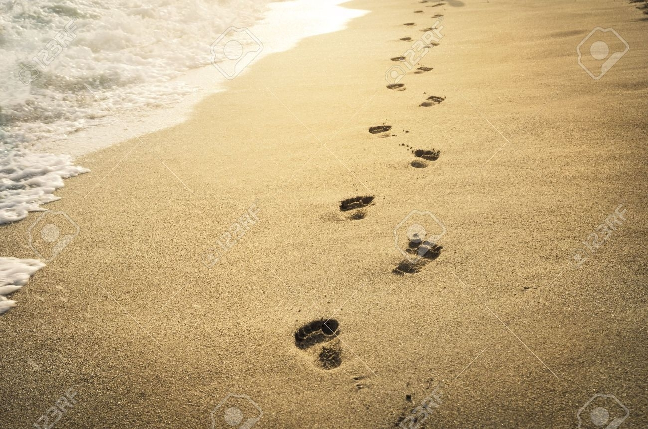10 Best Footprints In The Sand Images Free FULL HD 1080p For PC Background