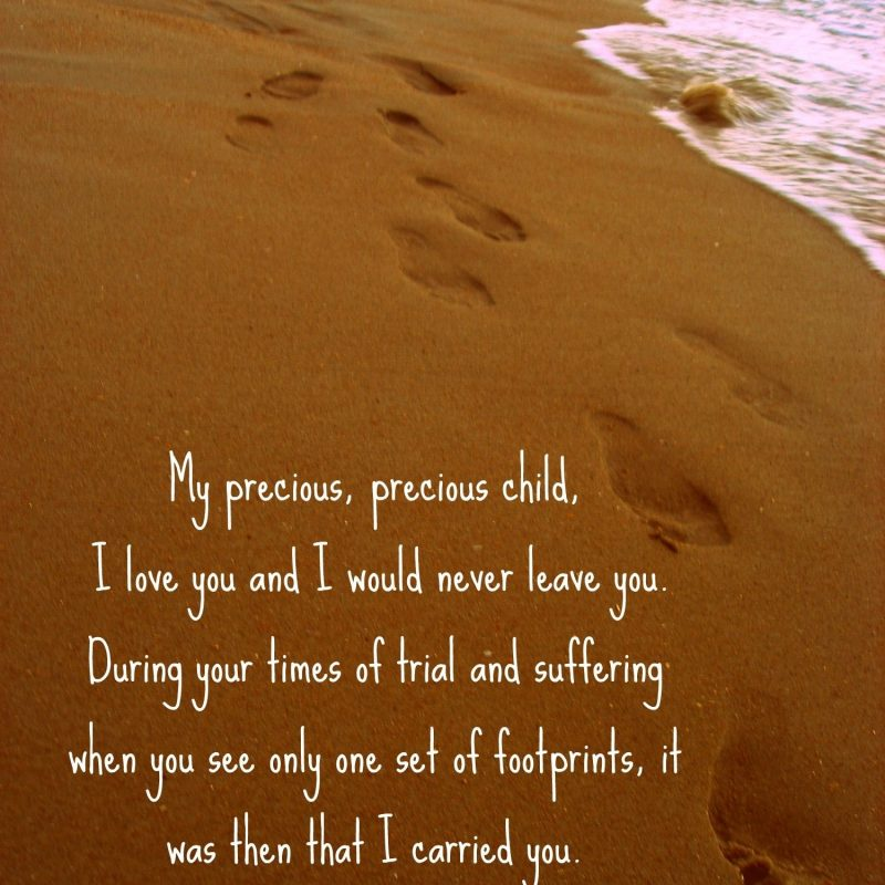 10 Top Footprints In The Sand Pictures FULL HD 1920×1080 For PC Desktop 2020 free download footprints in the sand poem this is such a precious poem words 800x800
