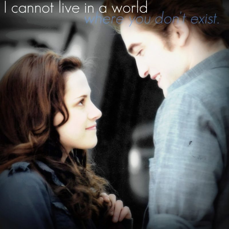 10 Top Twilight Wallpapers Edward And Bella FULL HD 1920×1080 For PC Desktop 2021 free download forever love twilight images edward quote hd wallpaper and 800x800