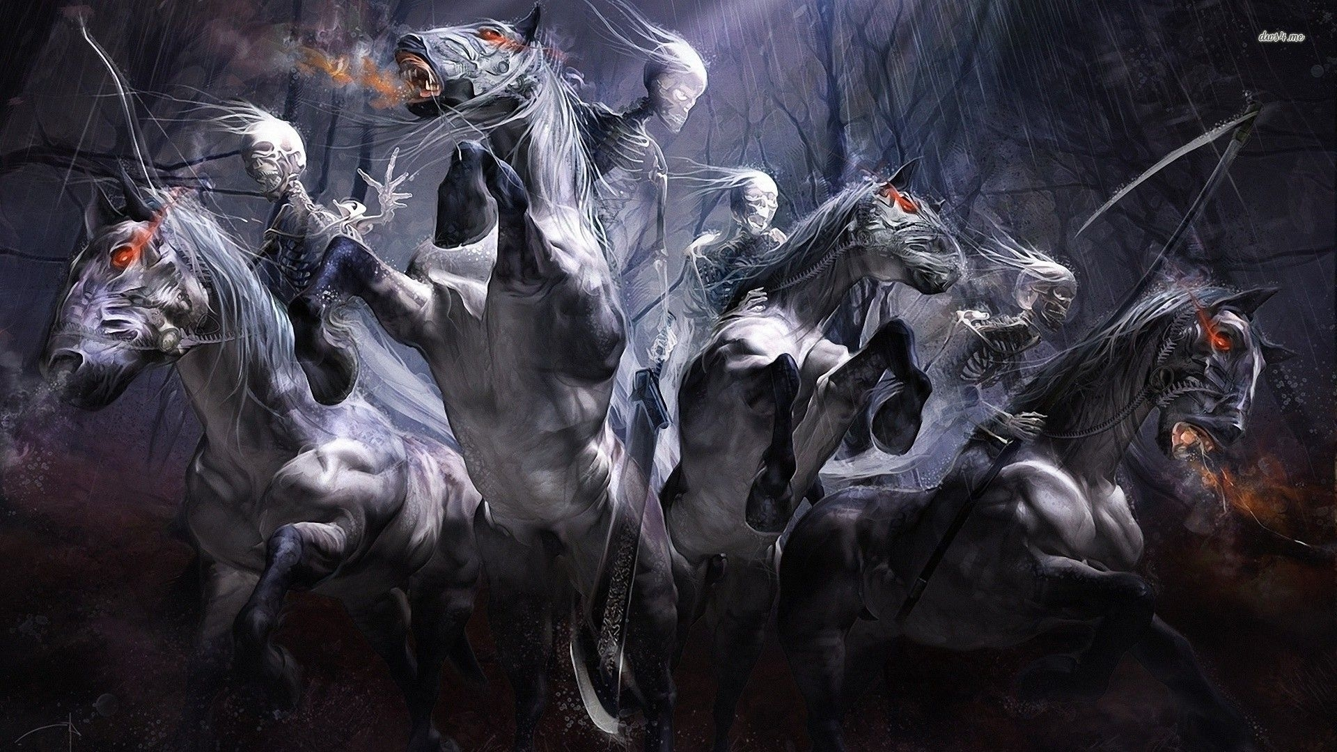 four horsemen war | four horsemen of the apocalypse wallpaper