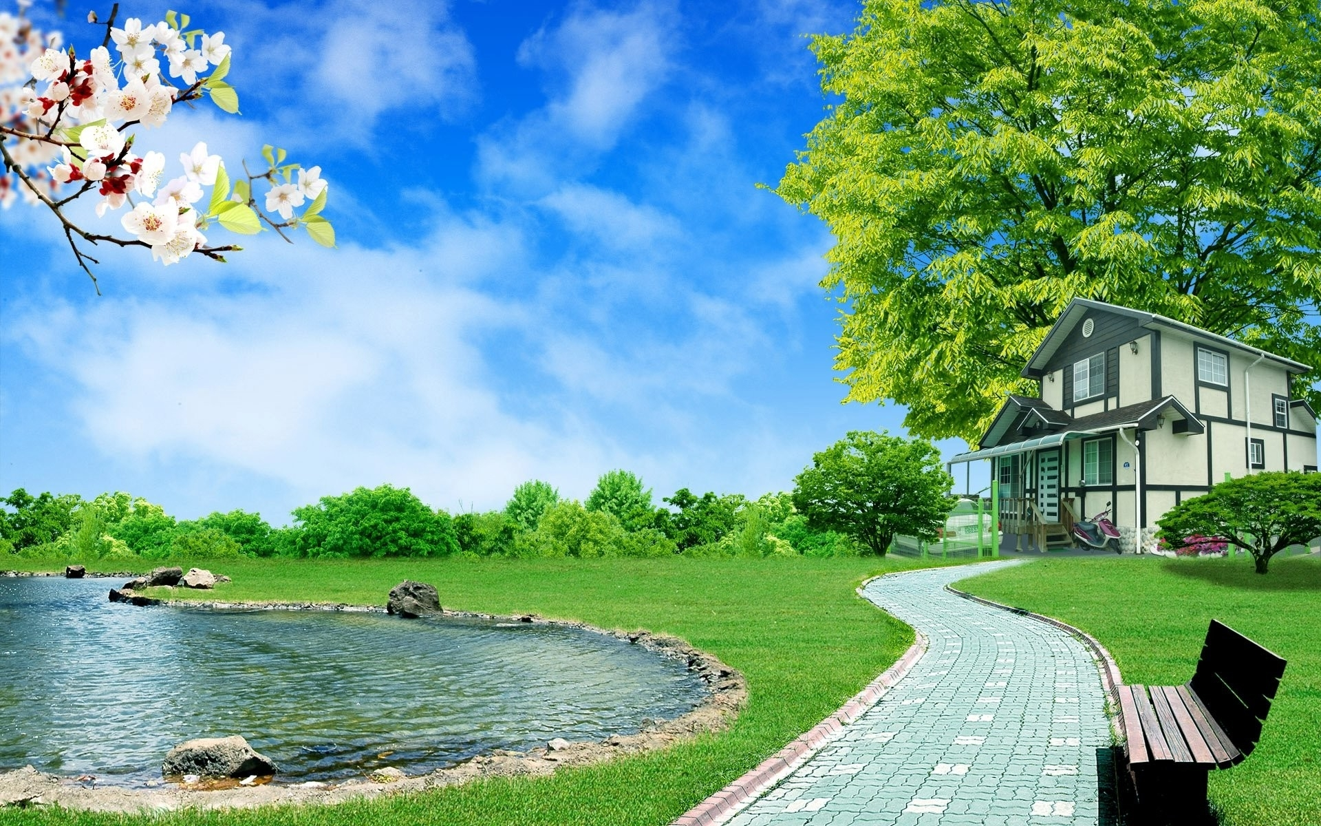 free 3d nature wallpapers hd « long wallpapers