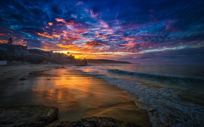 free beach sunset wallpaper 28812 2880x1800 px ~ hdwallsource