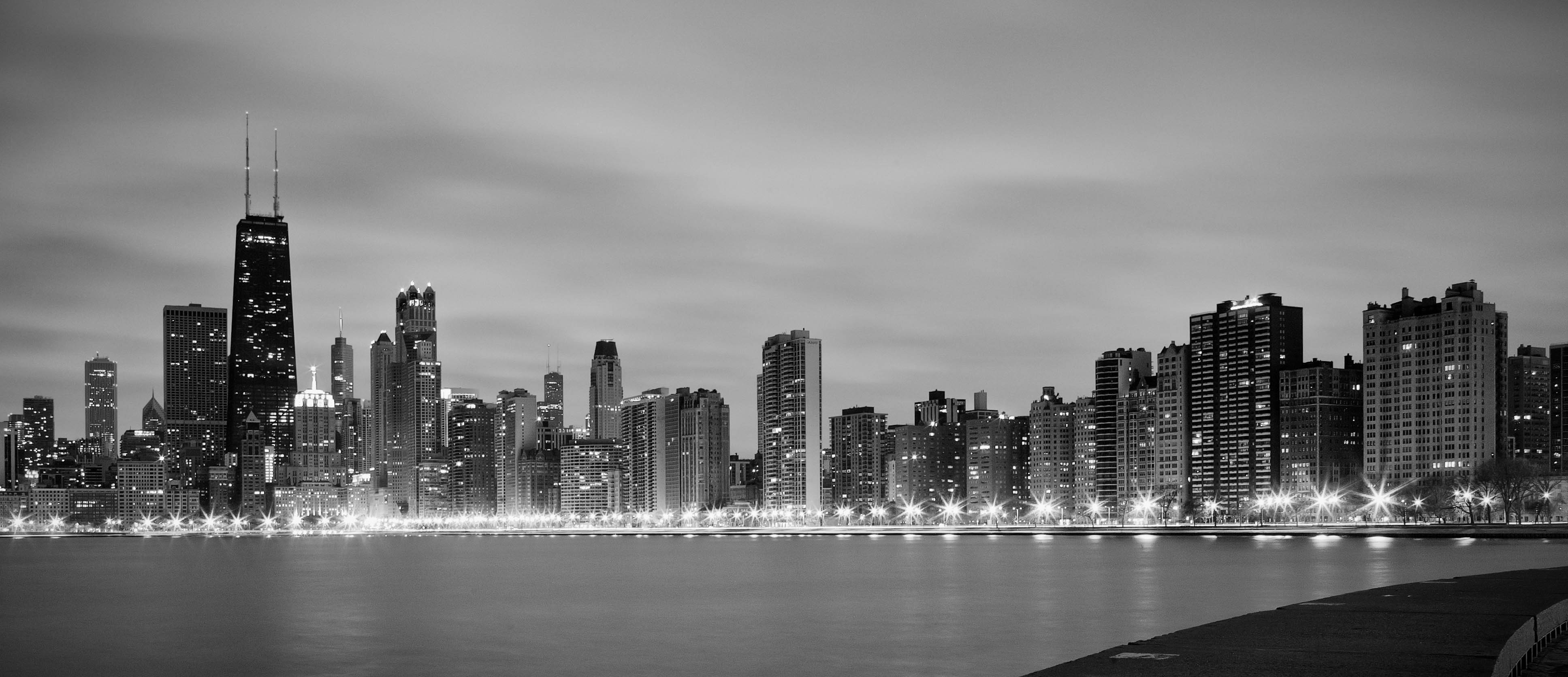 free chicago black and white wallpaper picture « long wallpapers