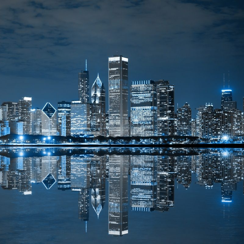 10 Top Chicago Skyline At Night Wallpaper FULL HD 1920×1080 For PC Desktop 2021 free download free chicago wallpaper images long wallpapers 800x800