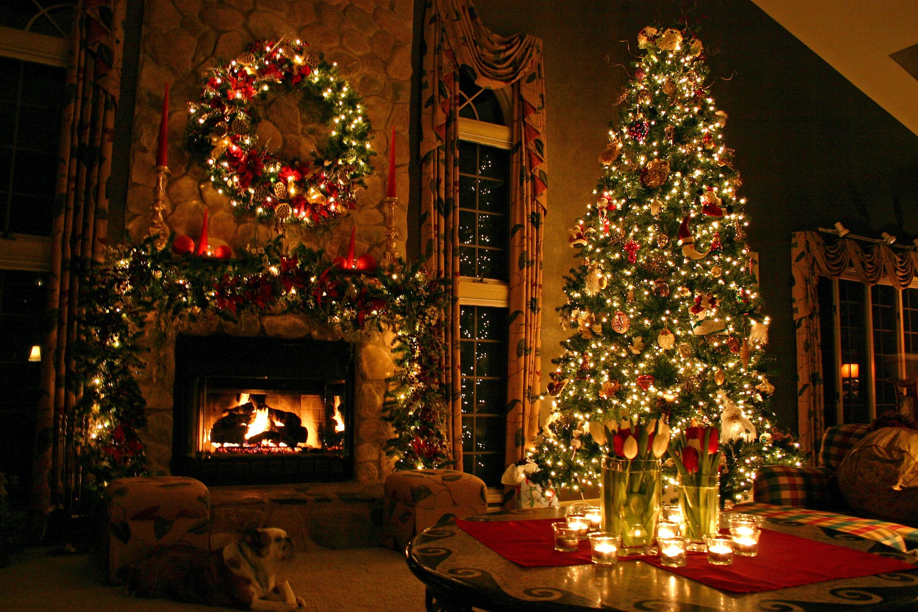 free christmas tree wallpapers 1080p « long wallpapers