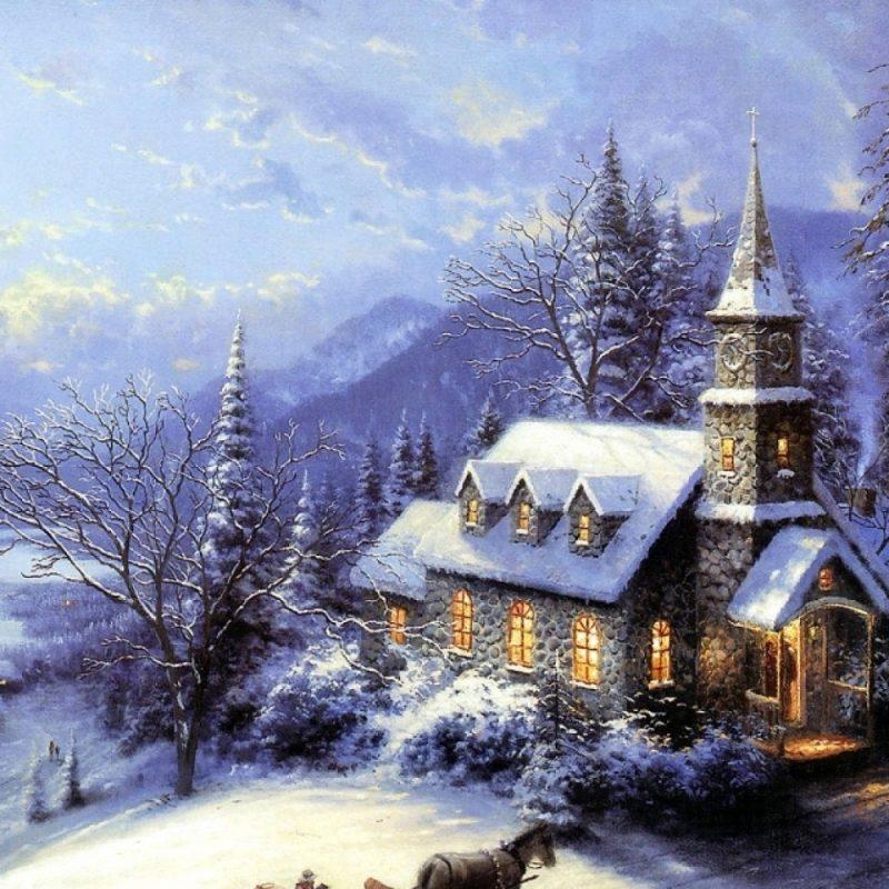 10 Best Free Thomas Kinkade Christmas Screensavers FULL HD 1920×1080 For PC Background 2020 free download free christmas wallpapers and screensavers for windows 7 beautiful 800x800