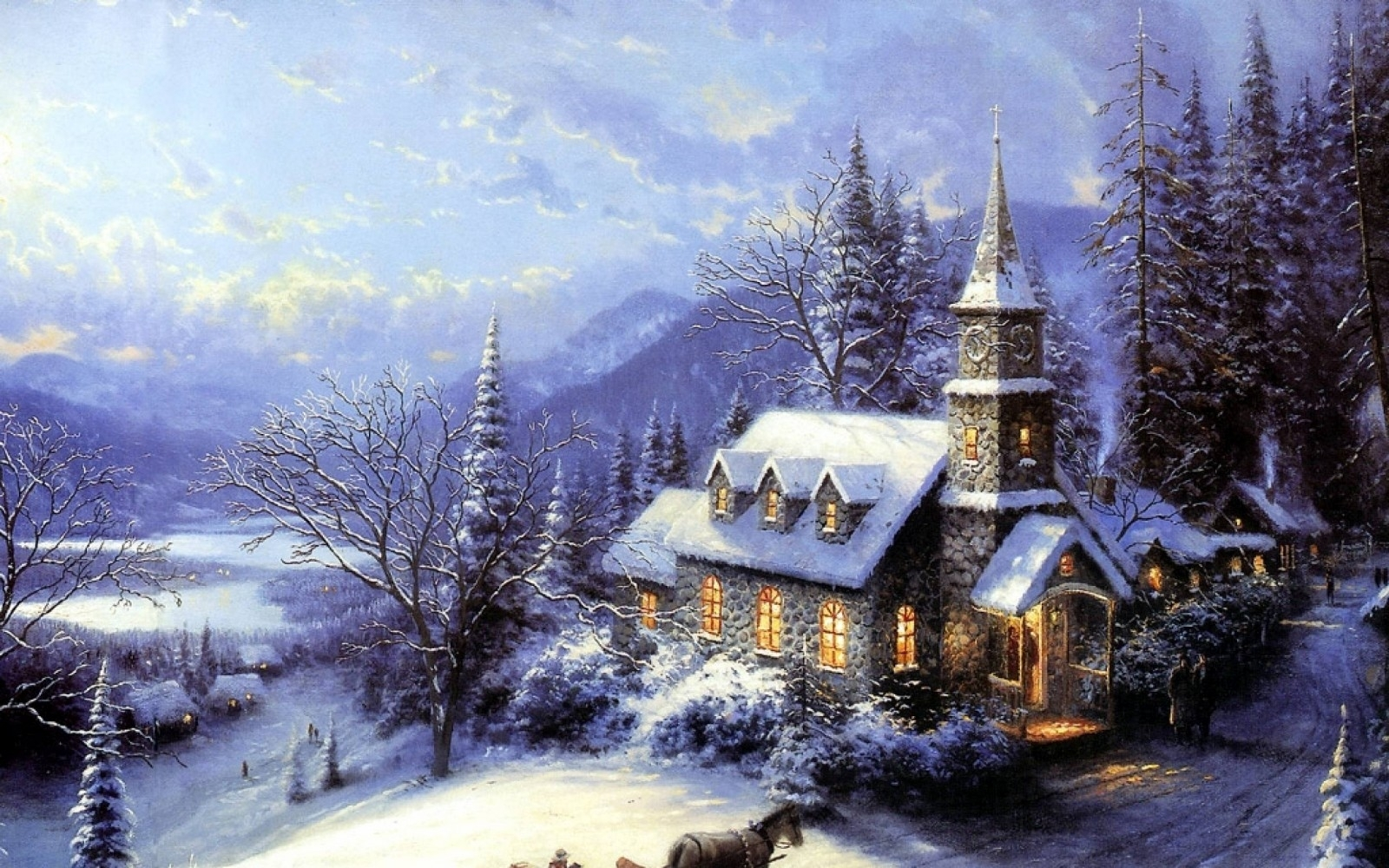 free christmas wallpapers and screensavers for windows 7 beautiful