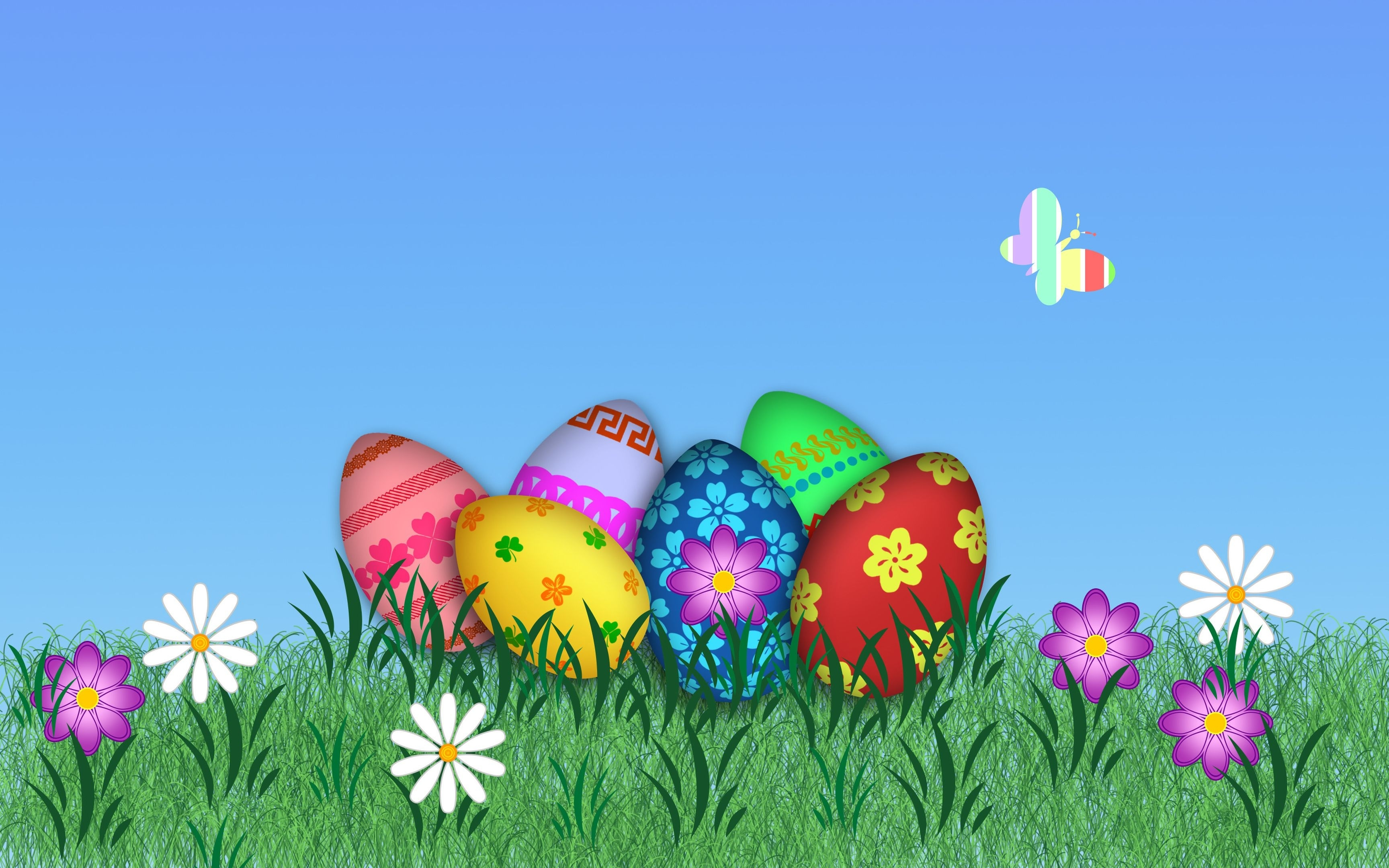 free easter computer desktop wallpaper - easter wallpapers and