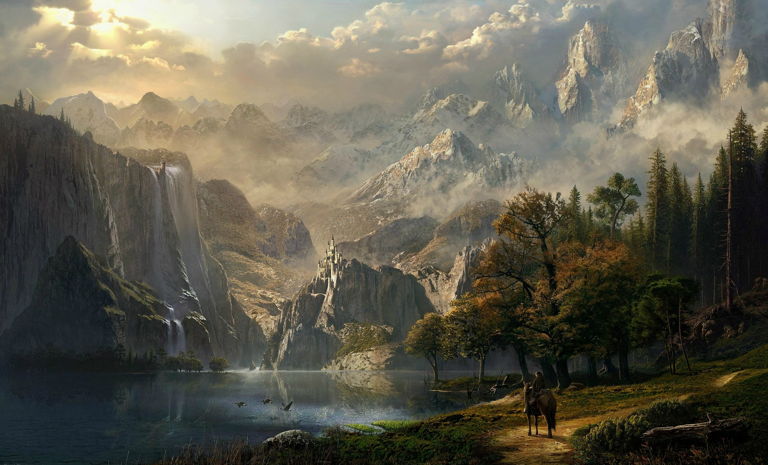 free fantasy landscape wallpapers high quality « long wallpapers