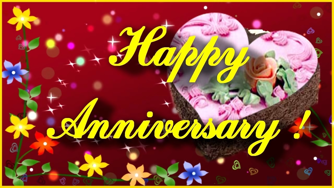 free happy anniversary greeting card ! anniversary video ecard - youtube
