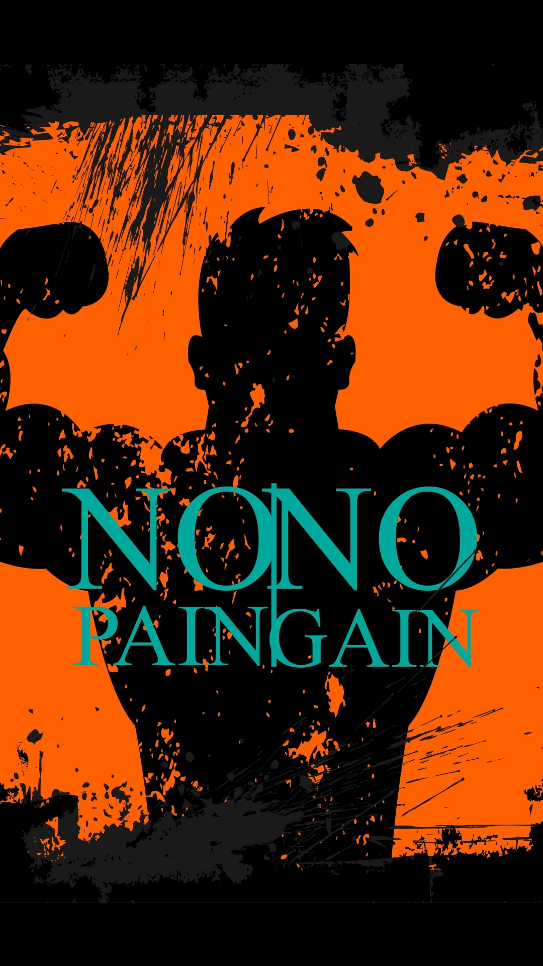 free hd no pain no gain phone wallpaper4474