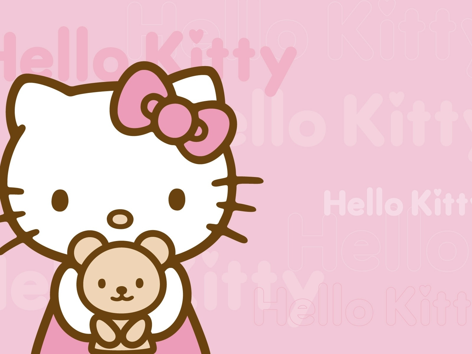 free hello kitty wallpapers desktop background « long wallpapers